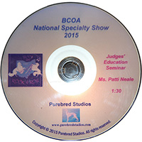 BCOA Judges Education DVD graphic
