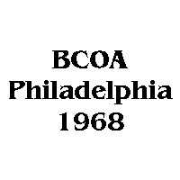 1968 BCOA national logo