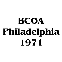 1971 BCOA national logo
