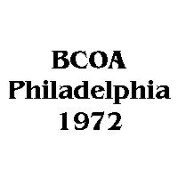 1972 BCOA national logo