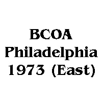 1973 BCOA national east logo