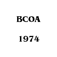 1974 BCOA national logo