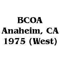 1975 BCOA national west logo