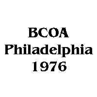 1976 BCOA national logo