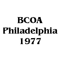 1977 BCOA national logo