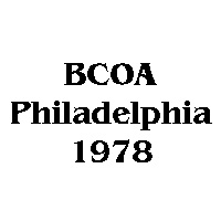 1978 BCOA national logo