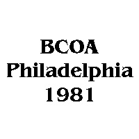 1981 BCOA national logo