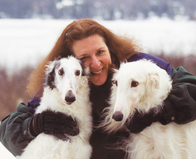 Breeder of the Top Conformation Borzoi 1990