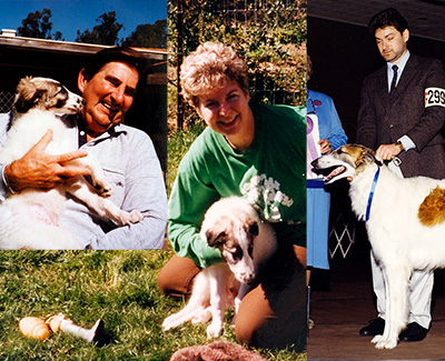 Breeders of the Top Conformation Borzoi 1992